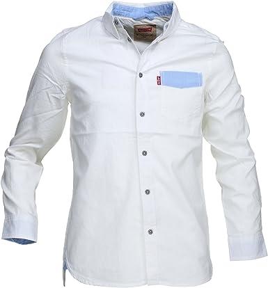 Camisa Levis Sunset Blanca TU Blanco: Amazon.es: Ropa y accesorios