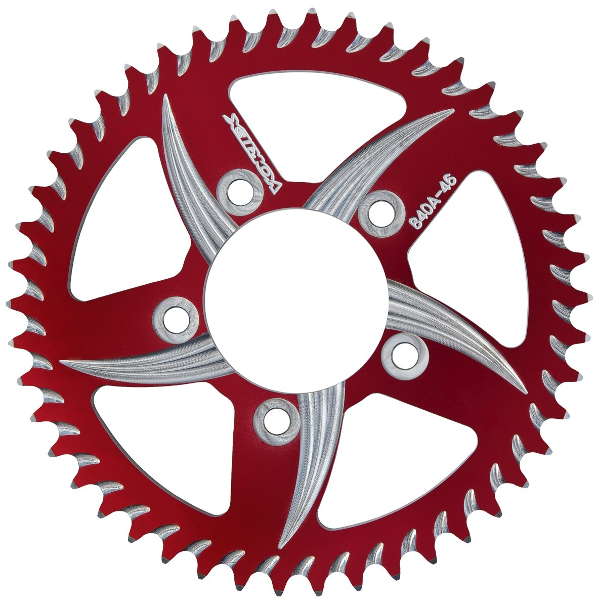 Vortex (435ZR-48) Red 48-Tooth 520-Pitch Rear Sprocket