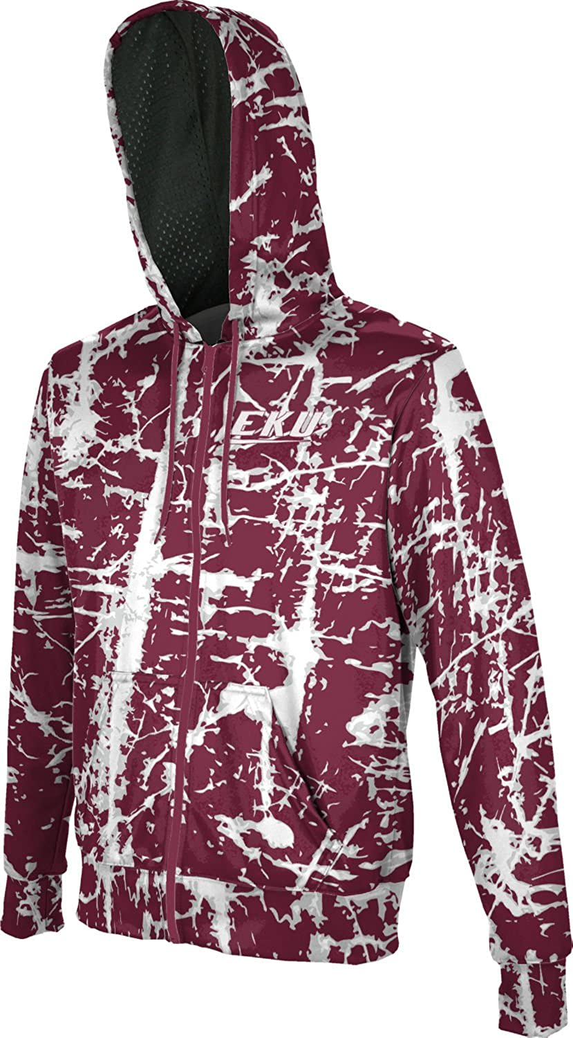 ProSphere Eastern Kentucky University Boys Fullzip Hoodie Distressed