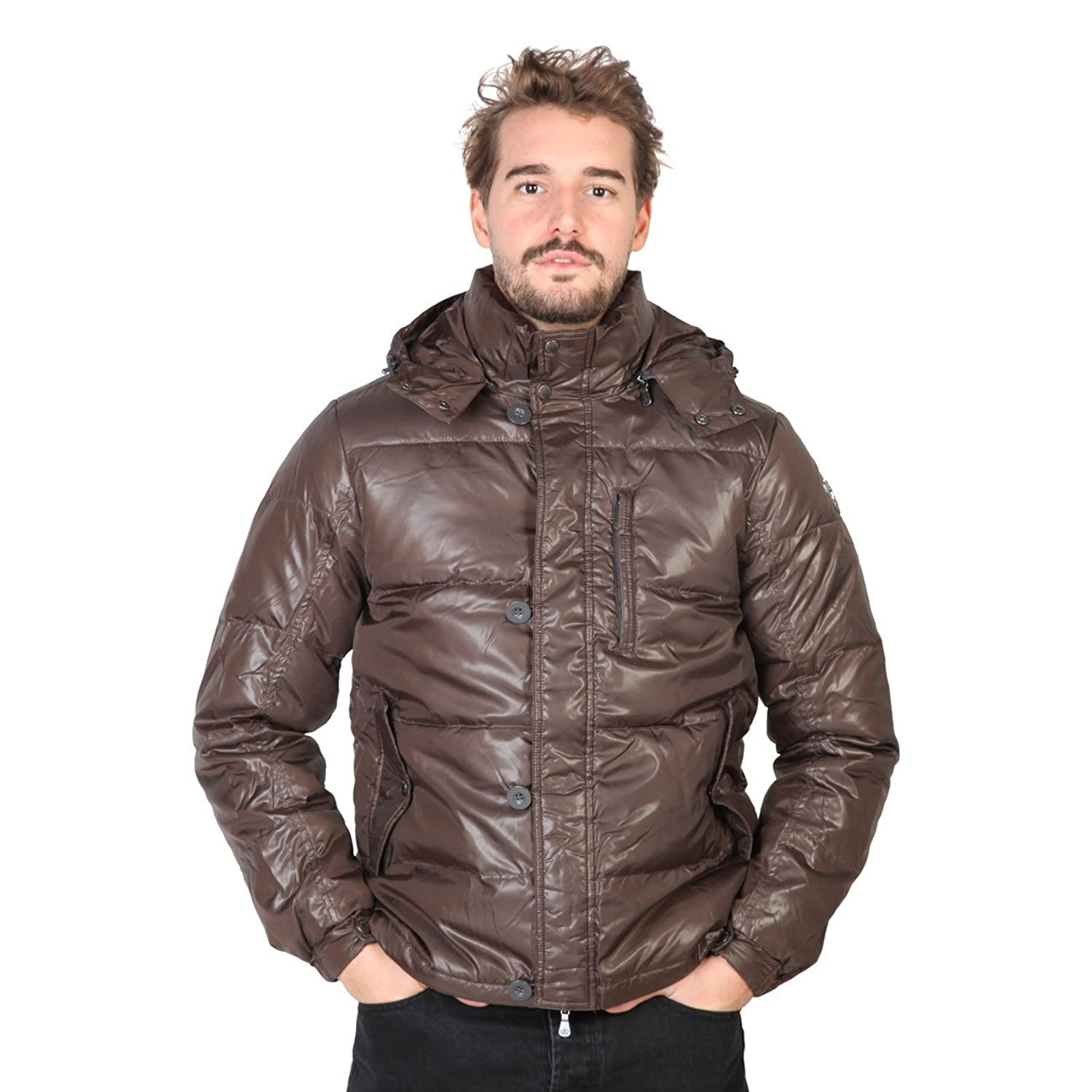 SEBASTIAN - Men's Hooded Jacket - Removable