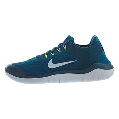 Nike Free Rn 2020 Big Kids Style: AH3451-402, Blue Force/White-green Abyss, 6.5 M US   Fashion Sneakers