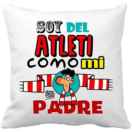 Cojín con relleno Atlético de Madrid soy del Atleti como mi ...