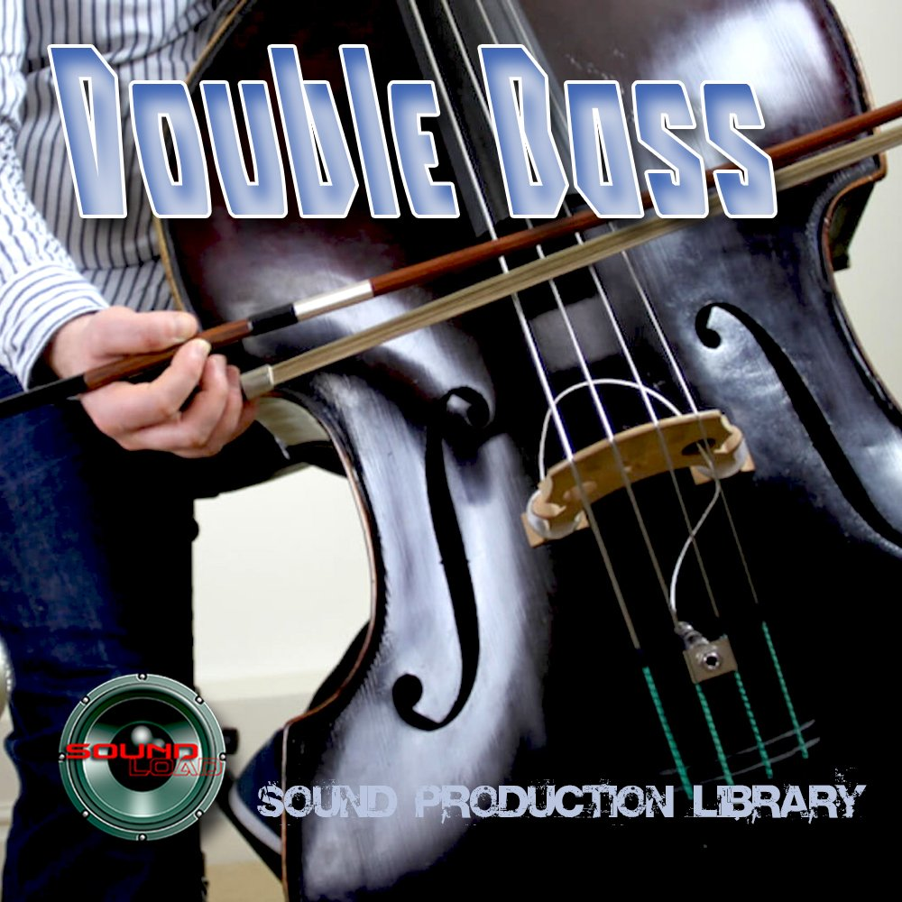 DOUBLE BASS REAL - Large Unique 24bit WAVE/KONTAKT Multi-Layer Studio Samples Production Library on DVD or download by SoundLoad (Image #1)