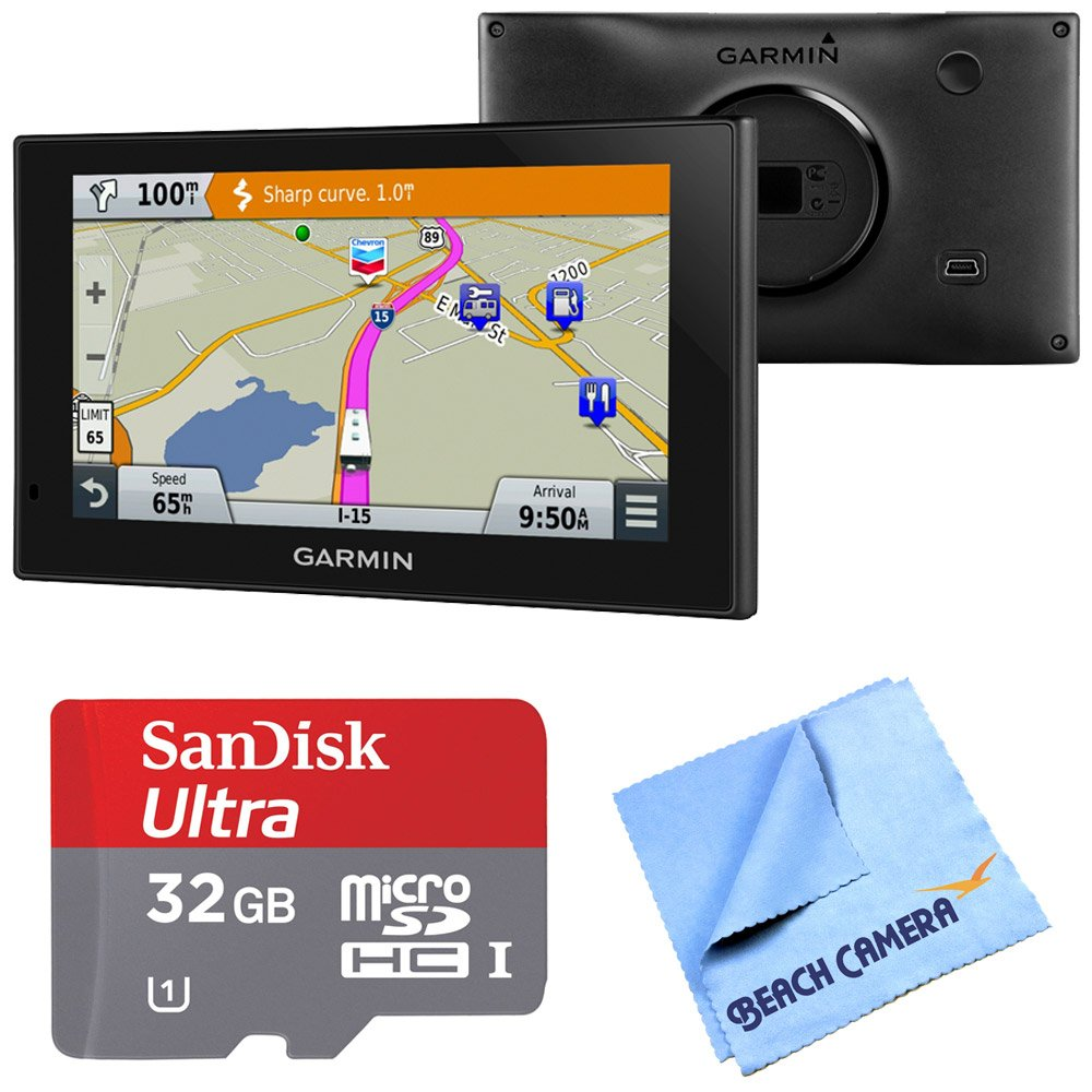 Garmin 010-01535-00 RV 660LMT Automotive GPS 32GB MicroSDHC Memory Card Bundle includes Garmin RV 660LMT GPS, Sandisk 32GB microSDHC Memory Card and Beach Camera Microfiber Cloth by Beach Camera