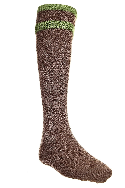 Marschall Socken Trachtenstrümpfe Kniebundstrümpfe mit Zopfmuster