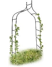 Relaxdays 10017904 - Arco para trepadoras, 1.70 x 2.4 m, color verde