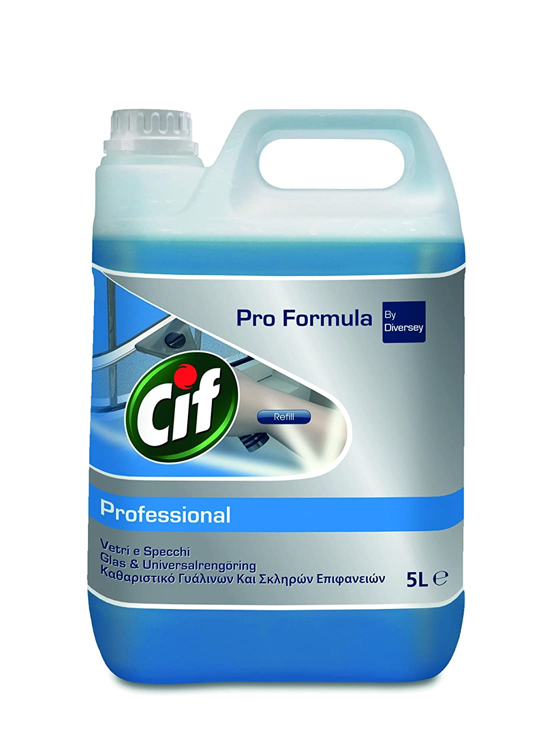 Cif 7517832 Professional Window and Multi-Surface Cleaner, 5 Litres 5Litres Diversey