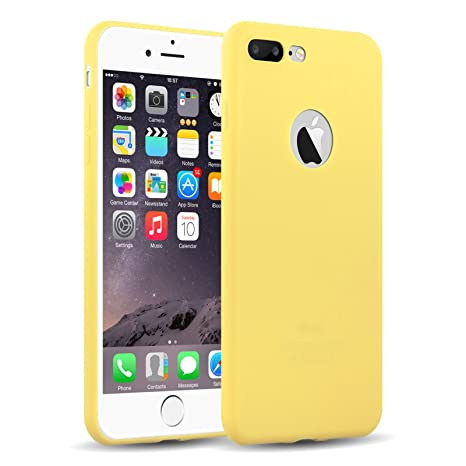 coque iphone 7 plus jaune