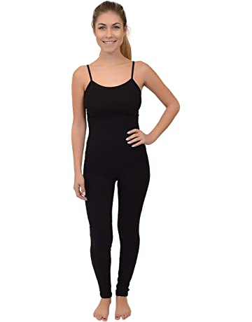 95bcb6e307a Stretch Is Comfort Women s Ankle Length Camisole Catsuit Unitard