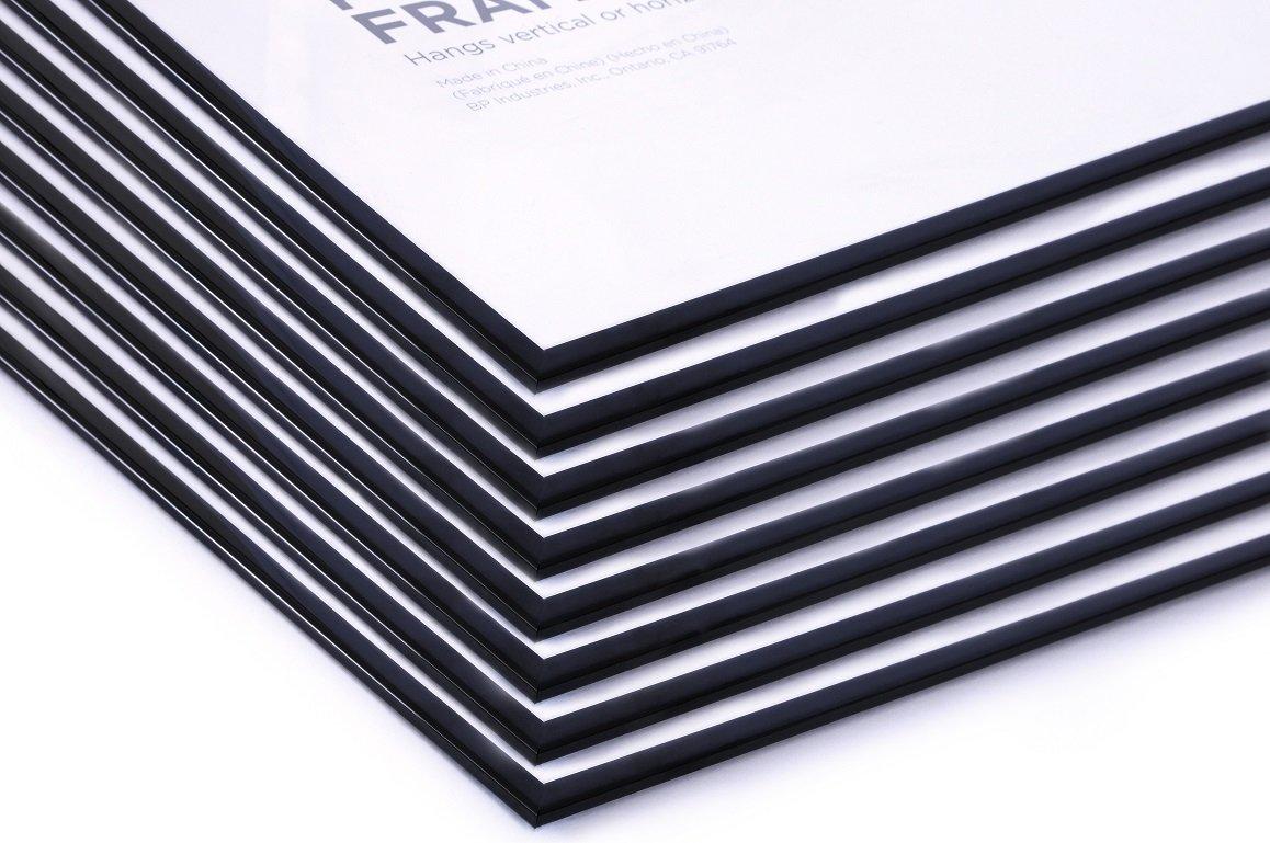 27x40 Movie Poster Frames Value Pack Deal (8 Frames) Basic Economy Frames