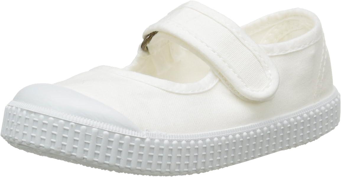 victoria Unisex Kids Mercedes Velcro Lona Tintada Low-Top Sneakers