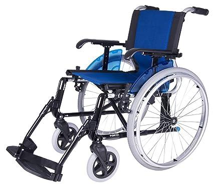 Forta fabricaciones - Silla de ruedas en aluminio FORTA LINE | Plegable | Rueda de 600mm | Ancho 50 cm