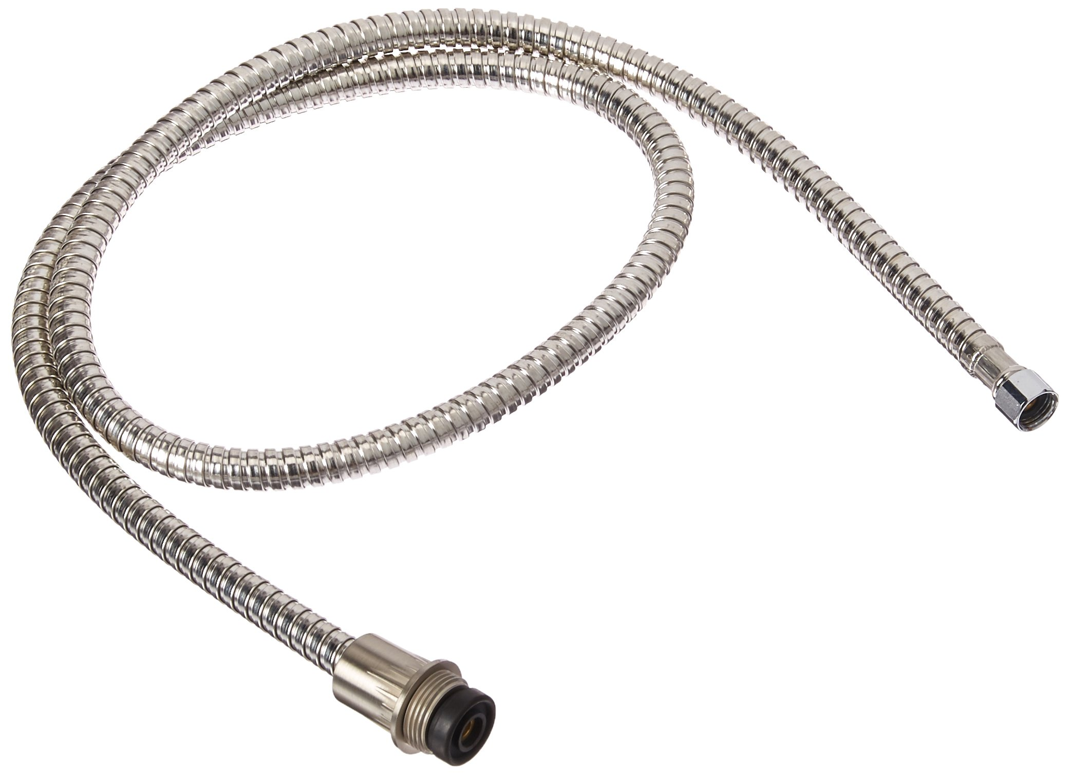 Danze DA511006NBN Stainless Steel Braided Side Spray Hose, 47-Inch, Brushed Nickel