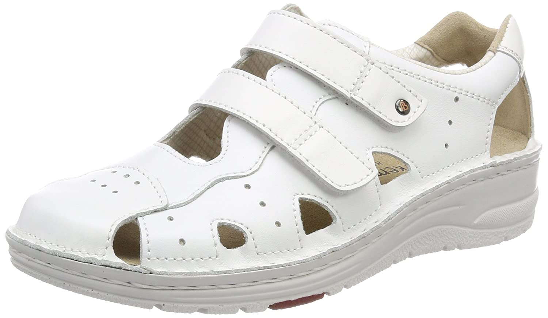 Berkemann Larena, Zapatillas para Mujer 36 1/3 EU|Blanco (Wei 100)