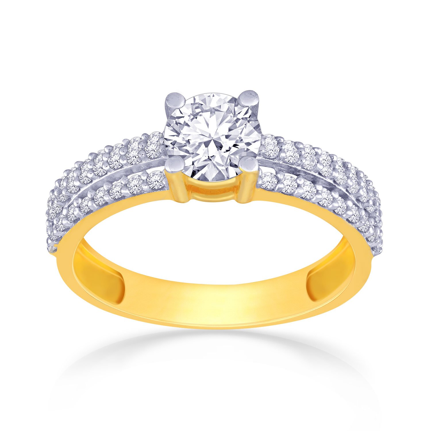 ring dsc engagement rings gold aks diamonds cluster diamond ref
