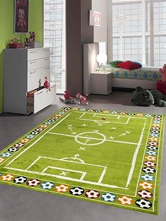 Merinos Kinderteppich Junge Kinderzimmer Teppich Fussball In