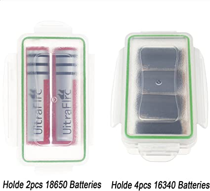 18650 BATTERY DISPLAY stand holder box rechargeable case imr retail ORGANIZER