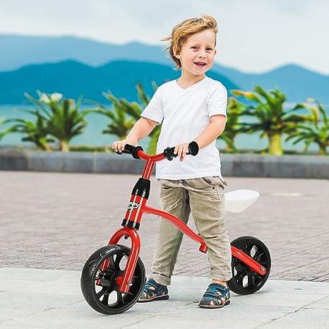 HONEY JOY Bicicleta de Equilibrio para niños, clásica, sin Pedal ...