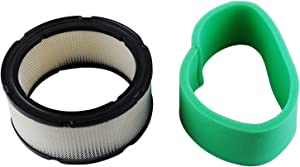 Podoy 24 083 03-S Air Filter for Compatible with Kohler 24-083-05S Pre-Filter 24-083-03 CH18 CH20 CH22 CH23 CH25 CV17 CV18 CV19 CV20 CV22 CV22S CV23 Engine Lawn Mower