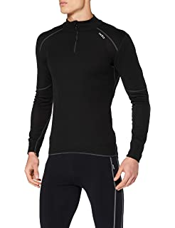 Shirt T HommeSports Warm Et Odlo X Manches Loisirs Longues 9YWHE2DI