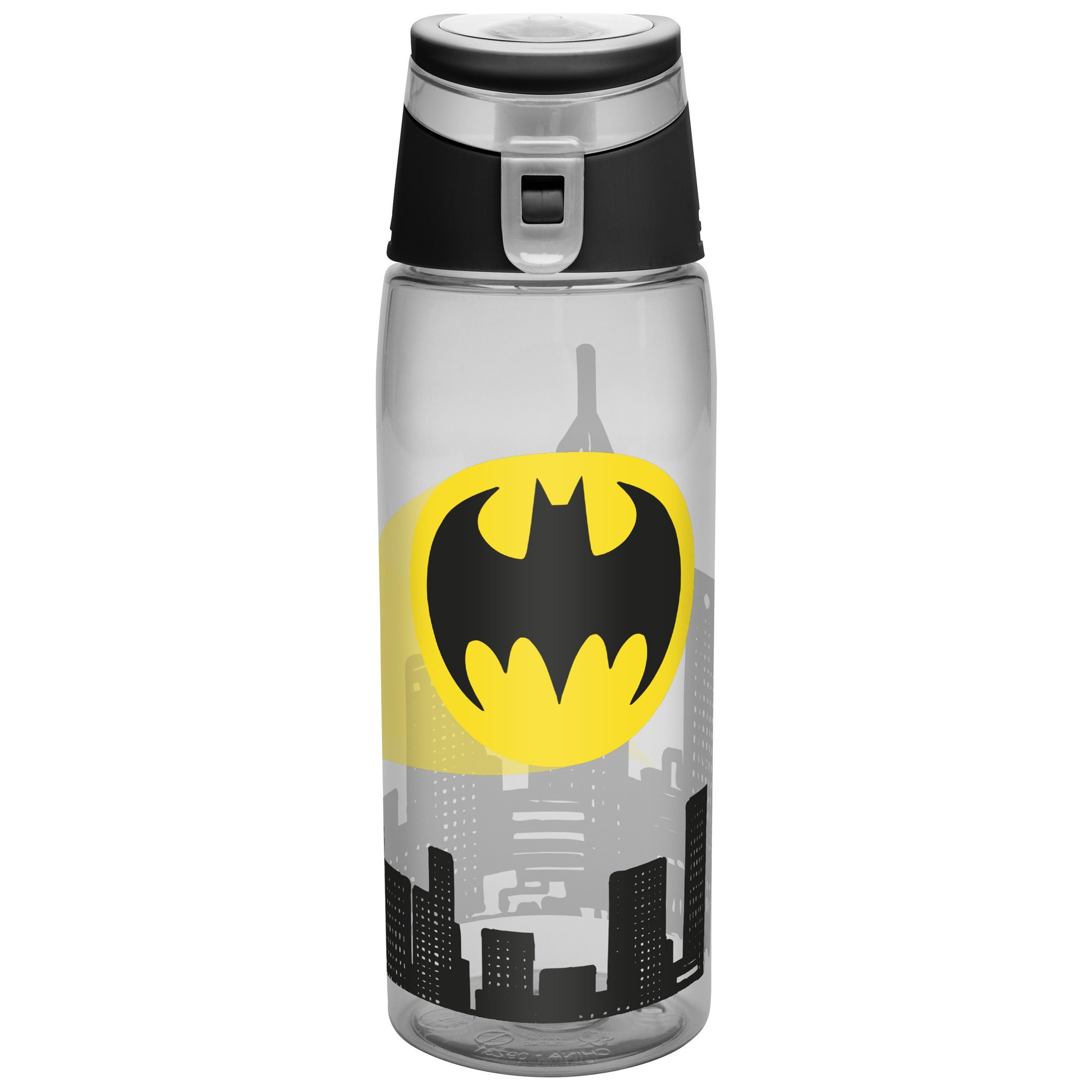 Zak Designs DC Comics 25 oz. Wide-Mouth Water Bottle, Batman