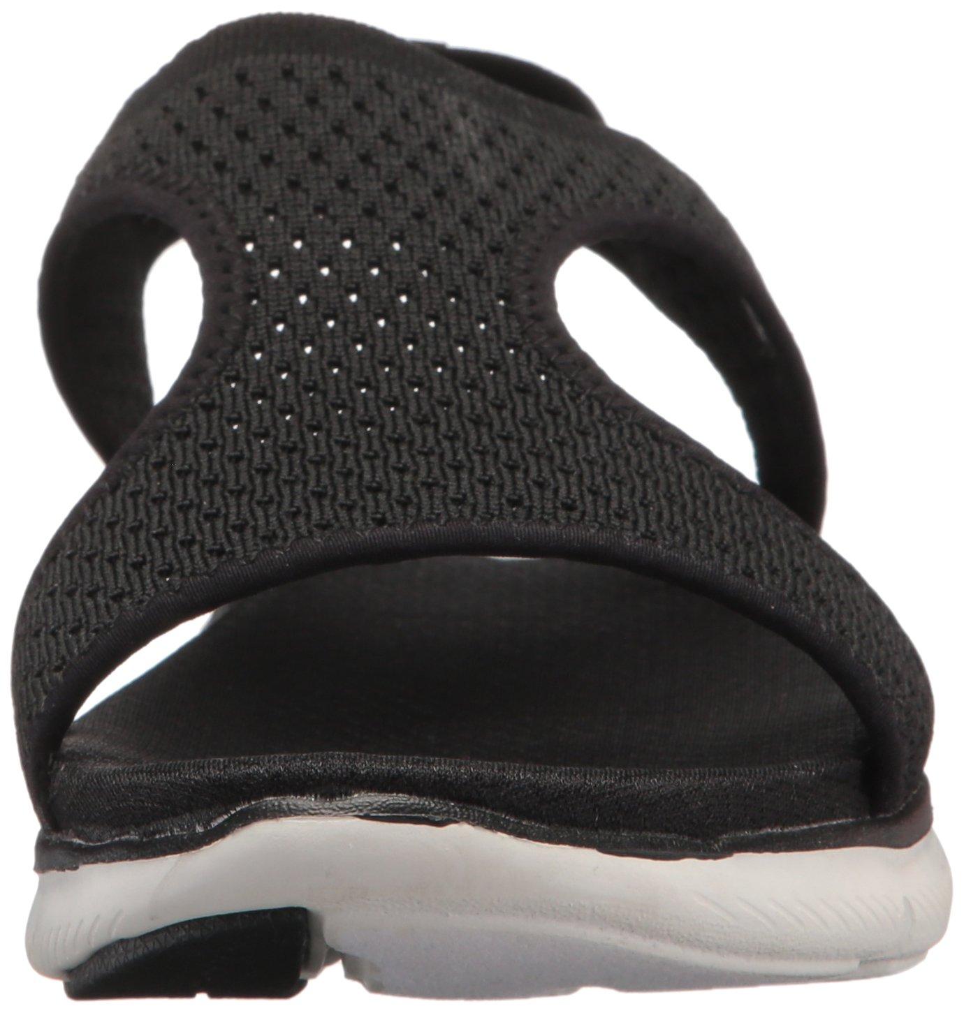 Skechers Sandal Women's Flex Appeal 2.0-Deja Vu Sport Sandal Skechers B0755VPXPJ 9 M US|Black 78d564