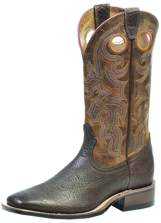 Boulet Men's Rider Sole Cowboy Boot Square Toe - 239