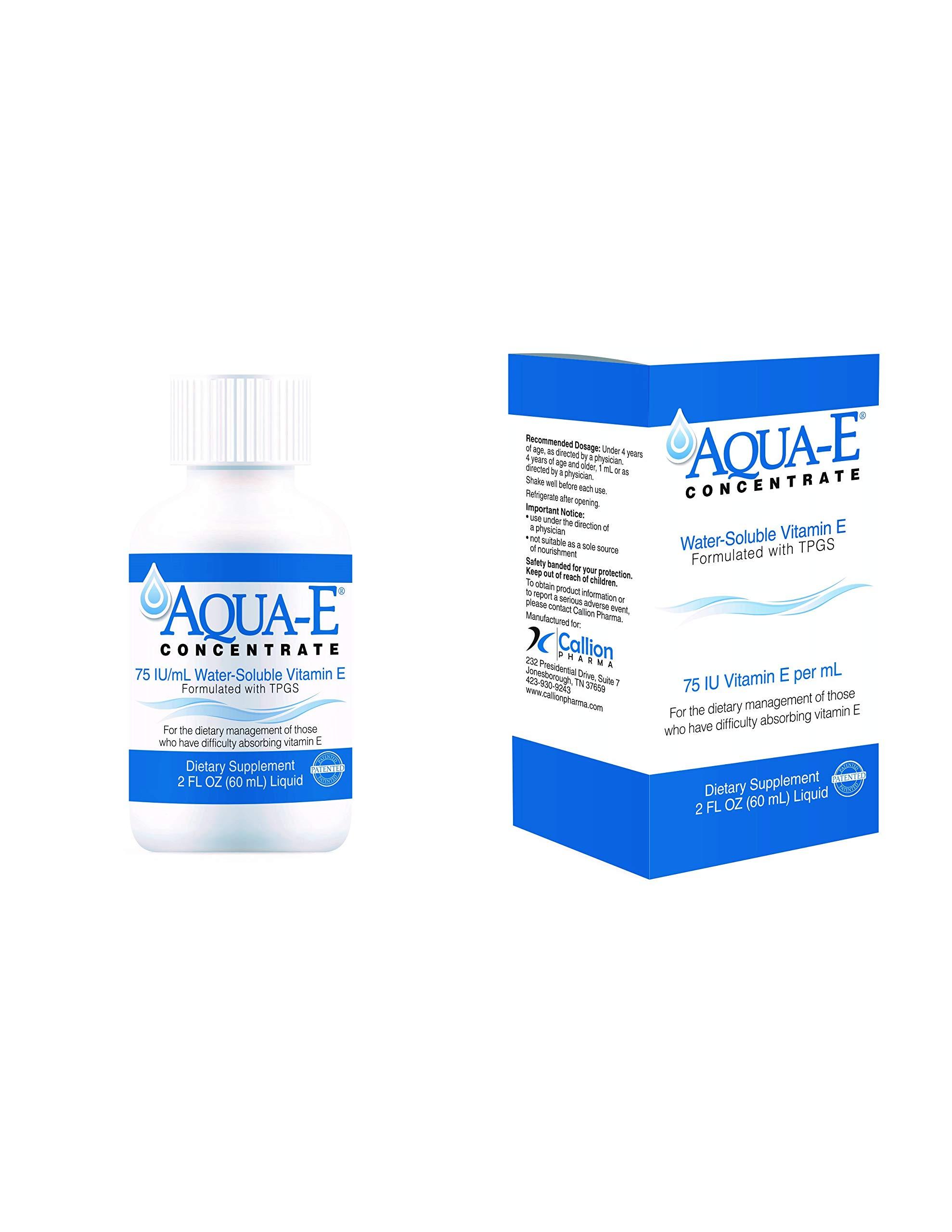 Aqua-E Concentrate 75 IU/ml, 60 ml Bottle