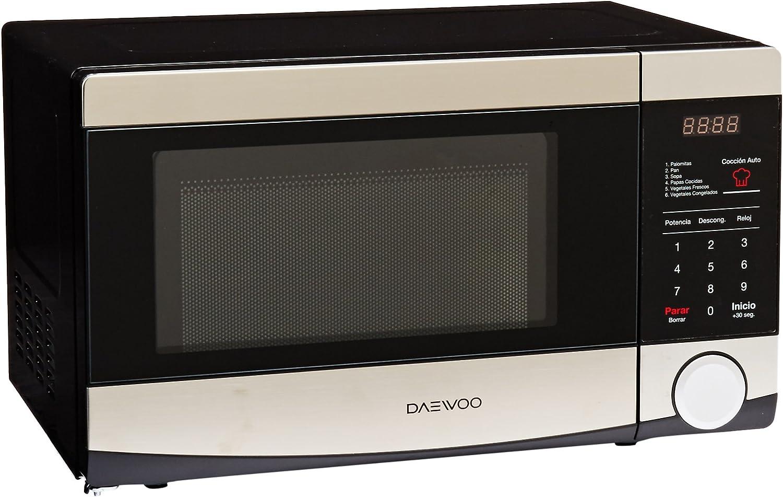 Daewoo KOR-6L4B Encimera 20L 700W Acero inoxidable - Microondas ...