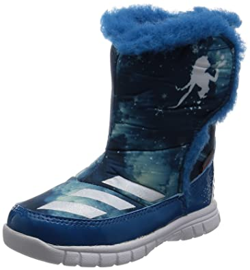 Adidas Disney Frozen Mid I, Zapatos (1-10 Meses) Unisex Bebé, Azul (Azuuni/Ftwbla/Azuhie), 26 EU