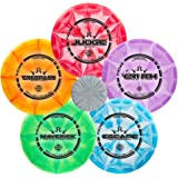 Dynamic Discs Prime Burst Disc Golf Starter Set | Trespass Distance Driver | Maverick Fairway Driver | Escape Fairway Driver | EMAC Truth Midrange | Judge Disc Golf Putter | Colors Will Vary