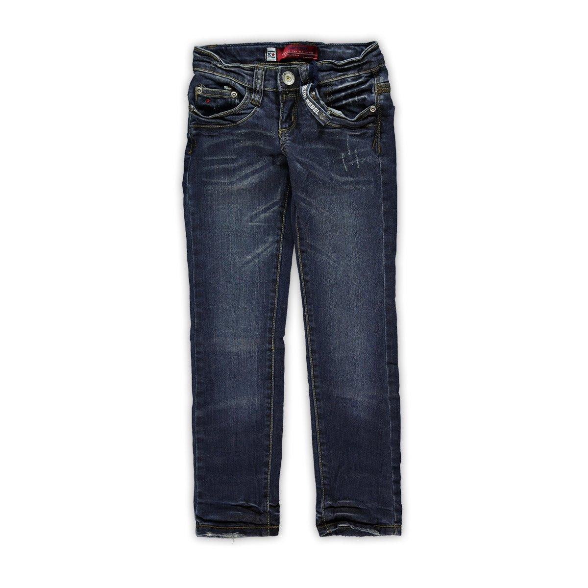 Blue Rebel Mä dchen Skinny Jeans EMERALD Rebel Wash