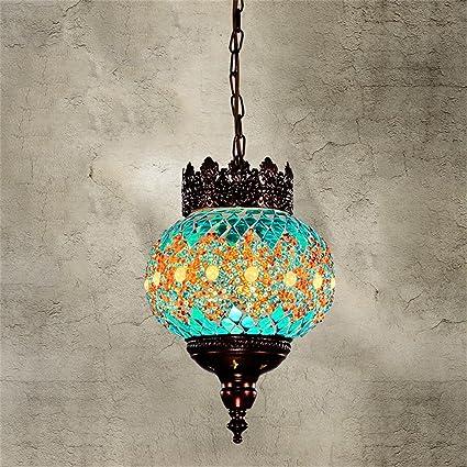 Bohemia del color del mosaico de estilo turco de la lámpara ...