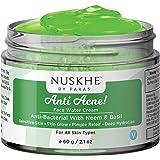 Nuskhe By Paras Anti Acne Water Cream (Gel) & Scar Removal Spot Treatment With Neem, Basil & Aloe, 60g