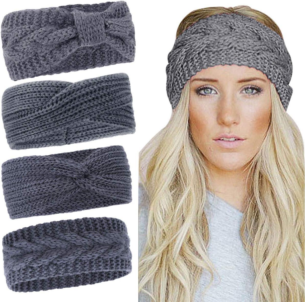 Knit Ear Warmer ~ Cinched Headband ~ Turban ~ Ear Warmer ~ Headband