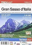 Gran Sasso d'Italia. Carta dei sentieri 1:15.000