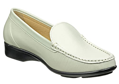 Otafuku - Mocasines para Mujer, Color Blanco, Talla 39: Amazon.es: Zapatos y complementos