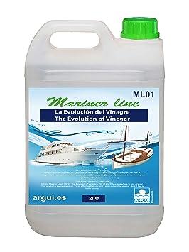 MARINER Line ML01. Desincrustante salino y calcáreo. Profesional. La evolución del vinagre 2
