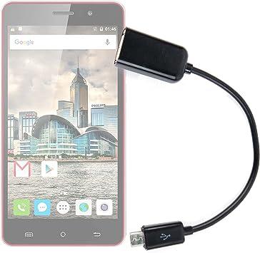 DURAGADGET Adaptador USB (Hembra) A MicroUSB (Macho ...