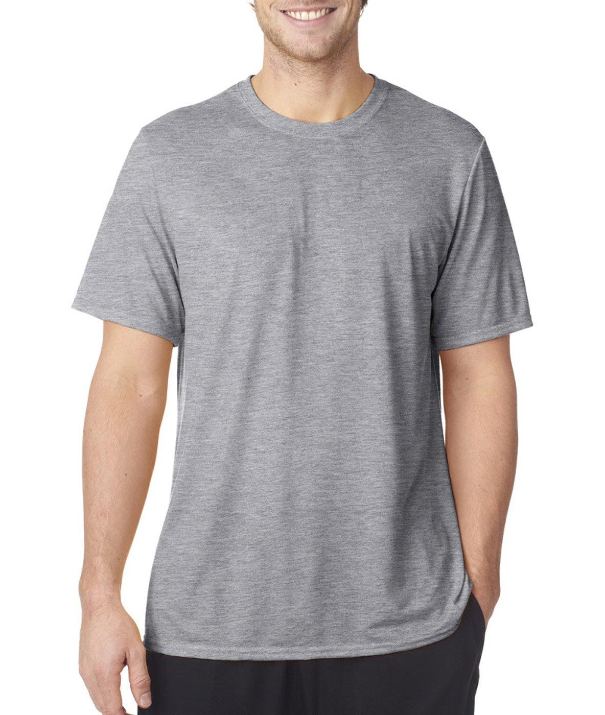 Gildan メンズTシャツ コアパフォーマンス B00QTT7HYS L スポーツグレー スポーツグレー L