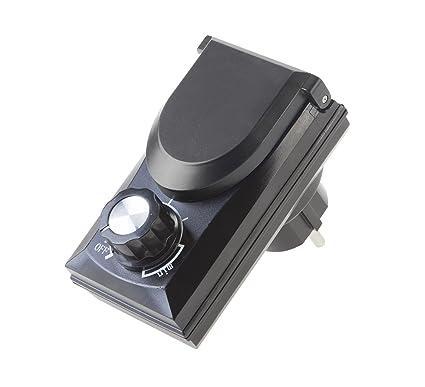 Leistungsregler f/ür Teichpumpen bis max 800 Watt Drehzahlregler