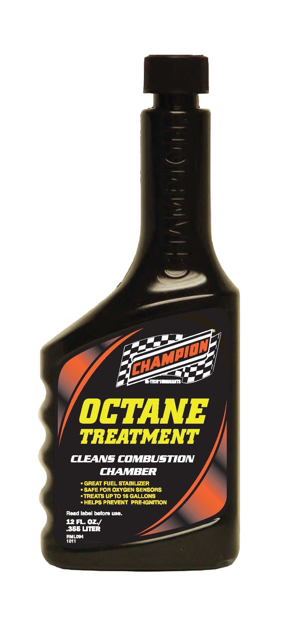 Champion Brands 4276K Octane Treatment - 12 oz.