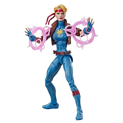 "Marvel Retro 6""-Scale Fan Figure Collection Dazzler (X-Men) Action Figure Toy – Super Hero Collectible Series: Toys & Games"