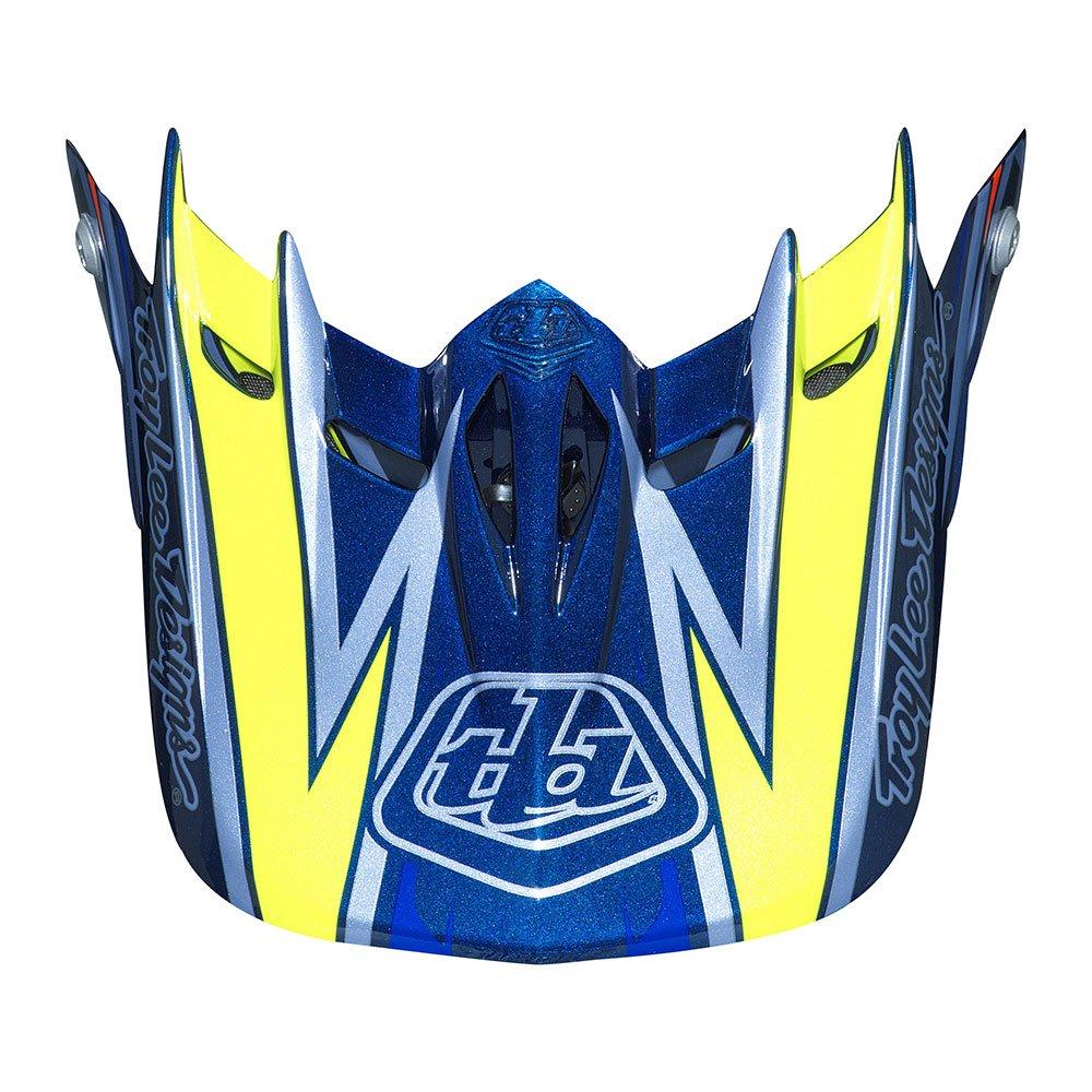 Troy Lee Designs Adult D2 Visor Proven BMX Helmet Accessories - Navy/One Size