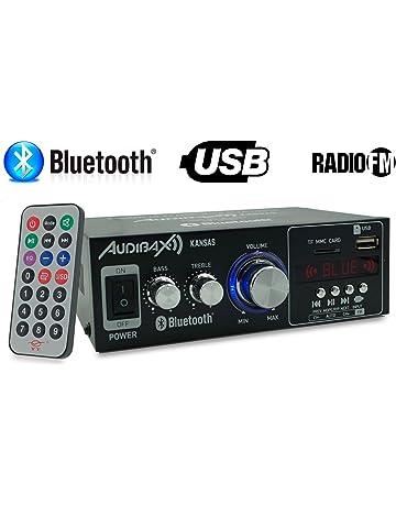 Amazon.es: Amplificadores - Audio: Electrónica: Estéreo, Monocanal, Multicanal y mucho más