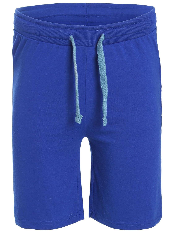 The Amber Orchid Men/'s Sweat Jogger Plain Summer Fleece Jersey Jogging Shorts Sports Running Gym