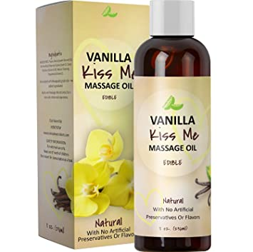 Arousing massage oil