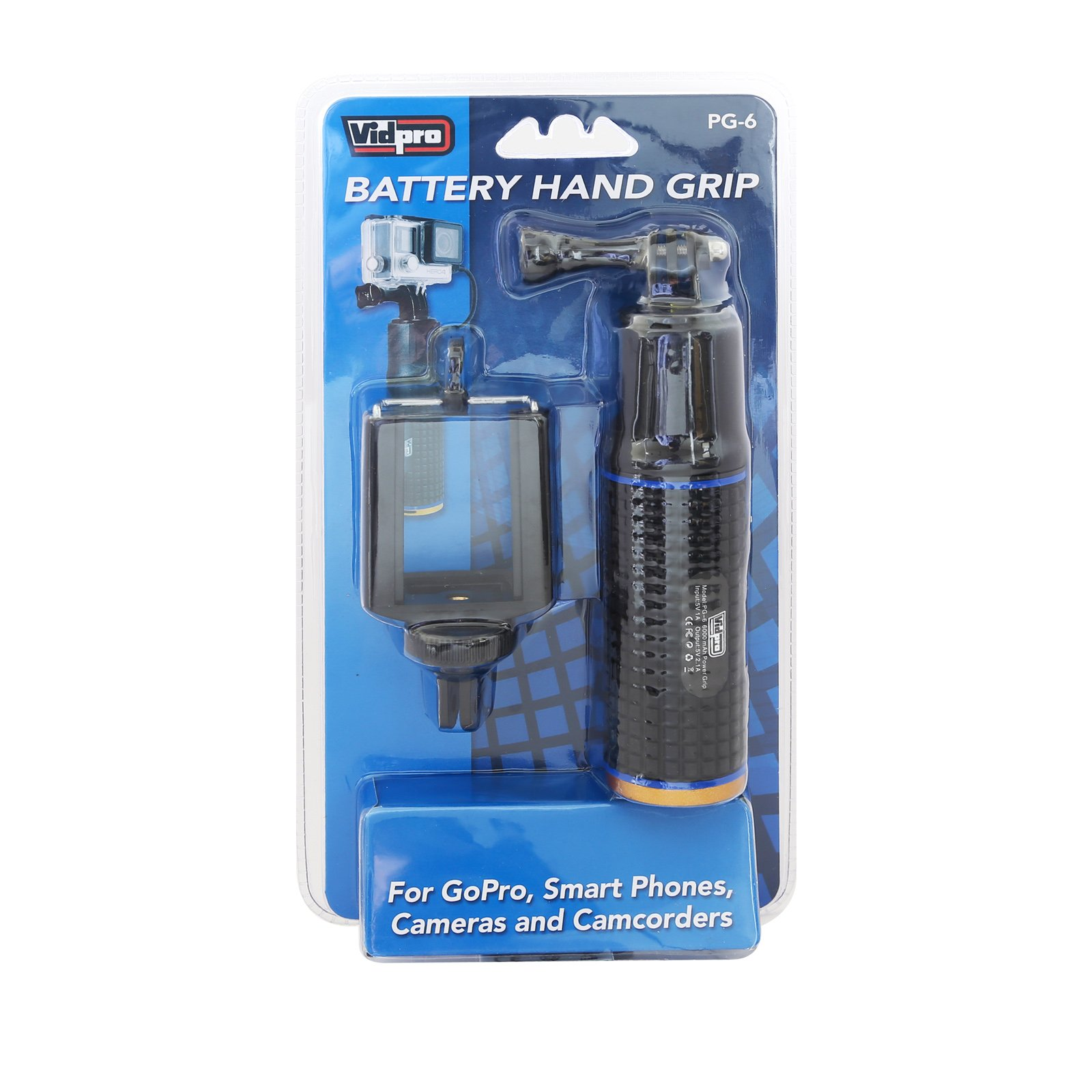 Panasonic HC-V800 Camcorder Monopods PG-6 Battery Hand Grip for Smartphones,Cameras and camcorders