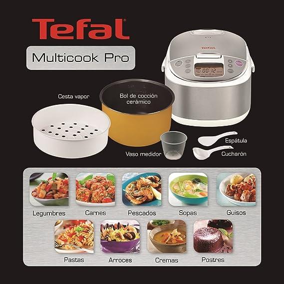 Tefal RK704E20 - Procesador de alimentos, 750 W, 12 funciones ...