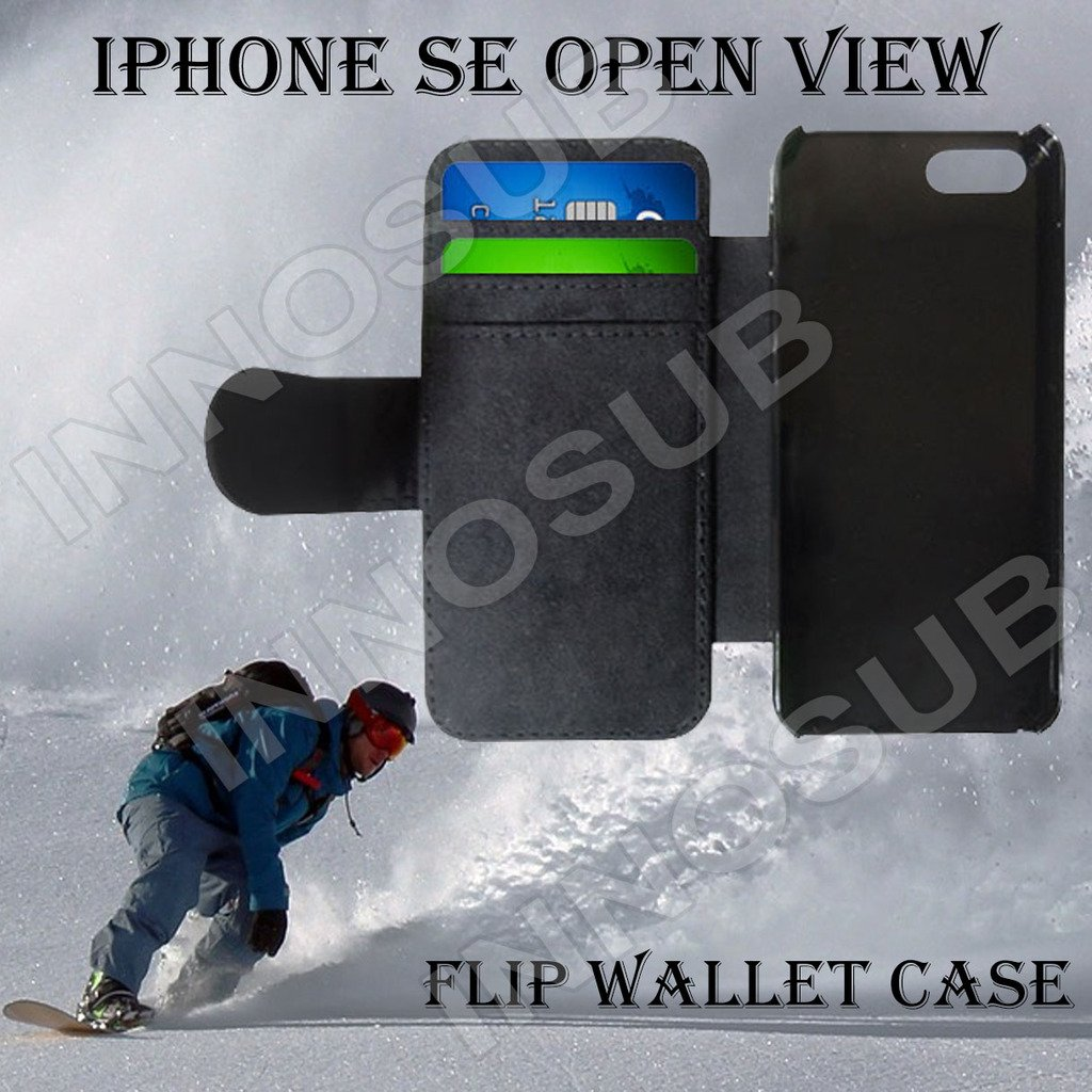 Solar System Planets Custom iPhone SE Flip Wallet Case,Bundle 3in1 Comes with Screen Protector/Universal Stylus Pen by innosub
